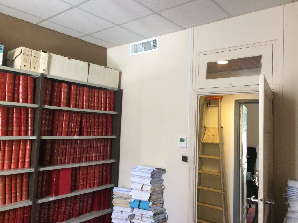 Remplacement climatisation gainable bureaux notaires à hyères