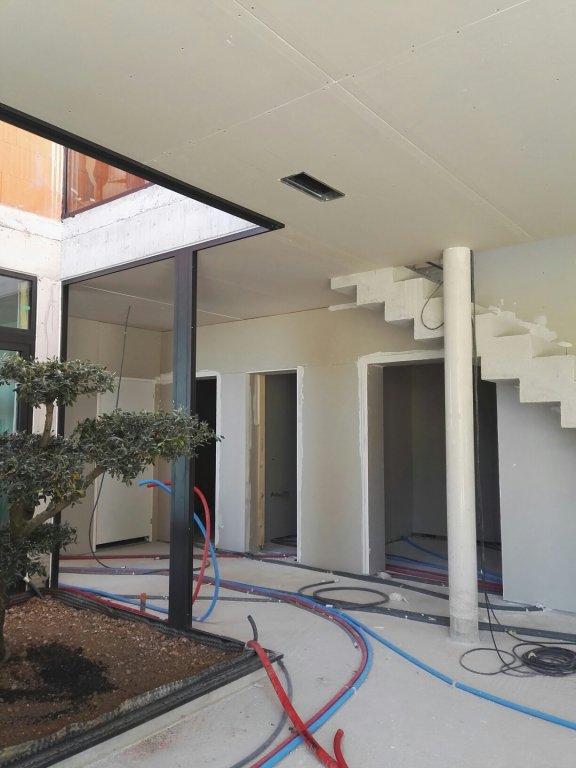 pompe chaleur air air gainable maison neuve toulon entreprise chauffage hy res caleco. Black Bedroom Furniture Sets. Home Design Ideas