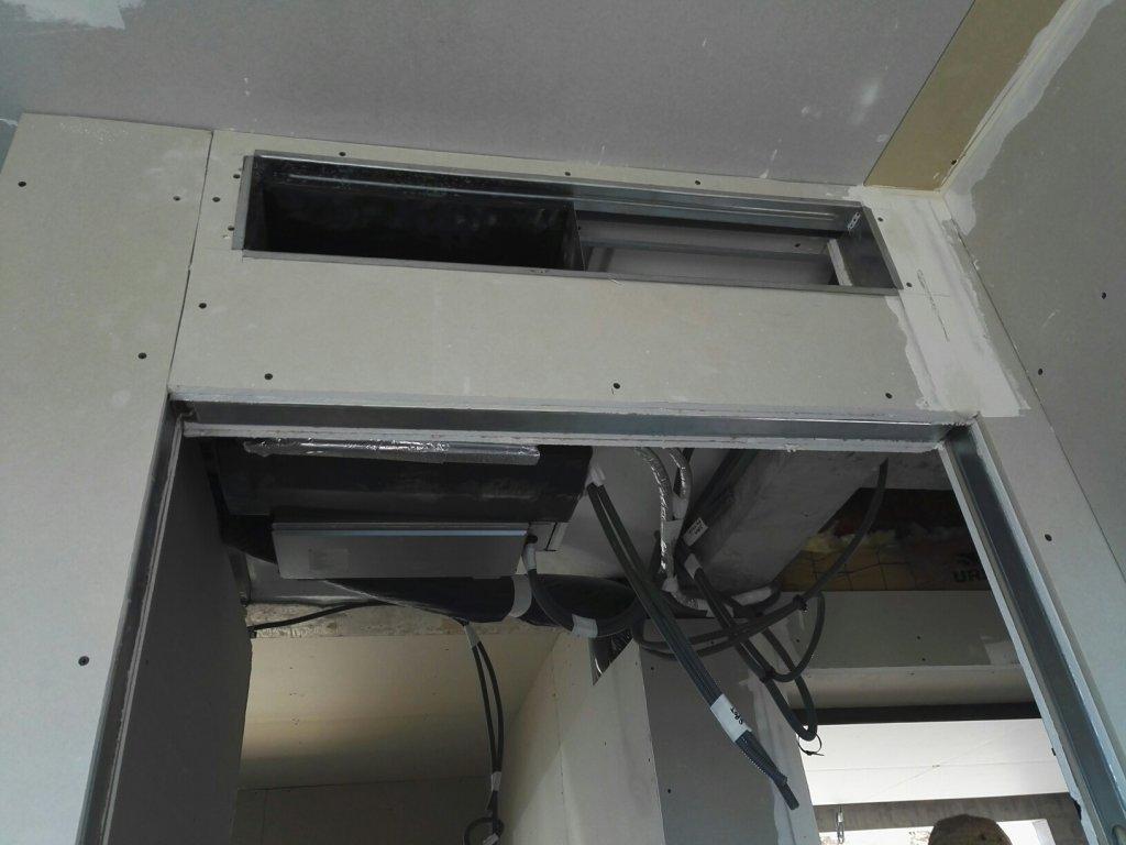 pompe a chaleur air air gainable maison neuve toulon entreprise chauffage hy res caleco. Black Bedroom Furniture Sets. Home Design Ideas