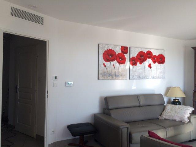 travaux pour pose de climatisation et chauffage sur hy res caleco. Black Bedroom Furniture Sets. Home Design Ideas